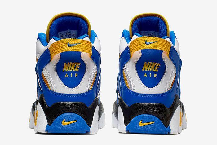 Nike Air Barrage Mid Warriors At7847 100 Heels