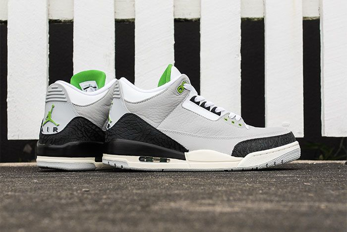 Air Jordan 3 Chlrophyll Jd Sports Sneaker Freaker2