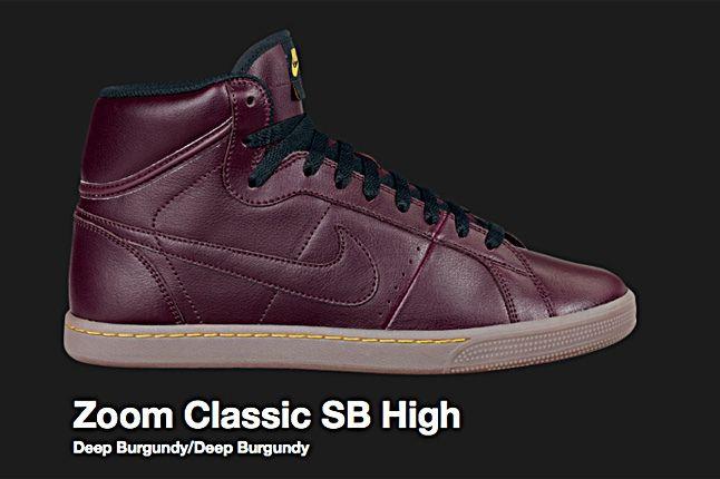 Nike Sb Zoom Classic Sb High 2010 1
