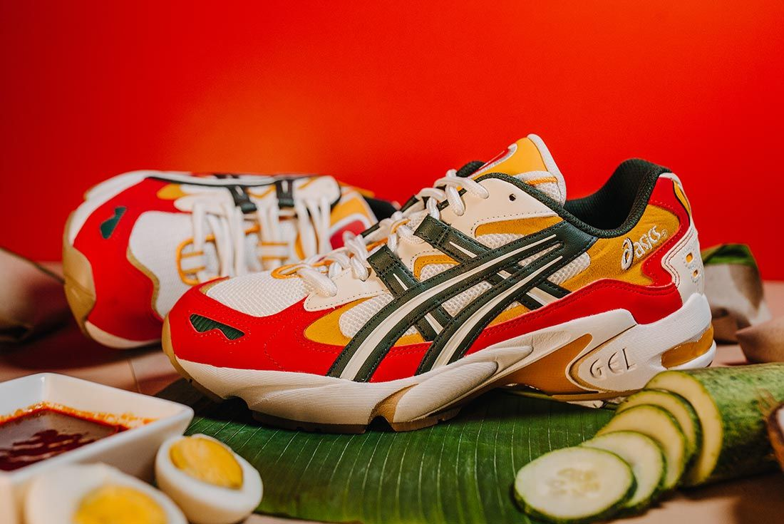 Asics Gel Kayano 5 Nasi Lemak Pair Left