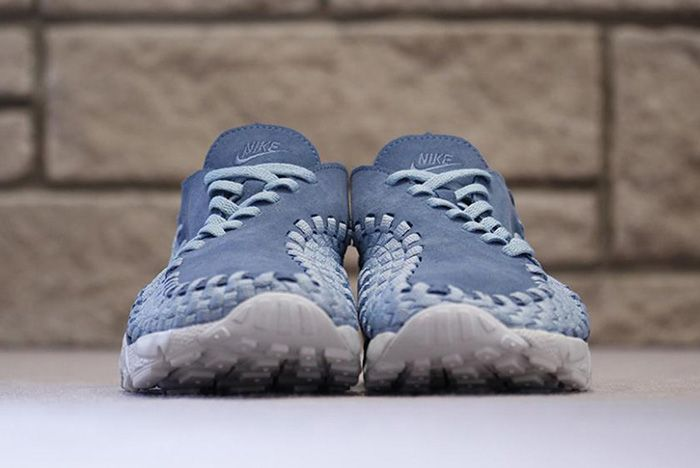 Nike Air Footscape Woven Smoky Blue 3