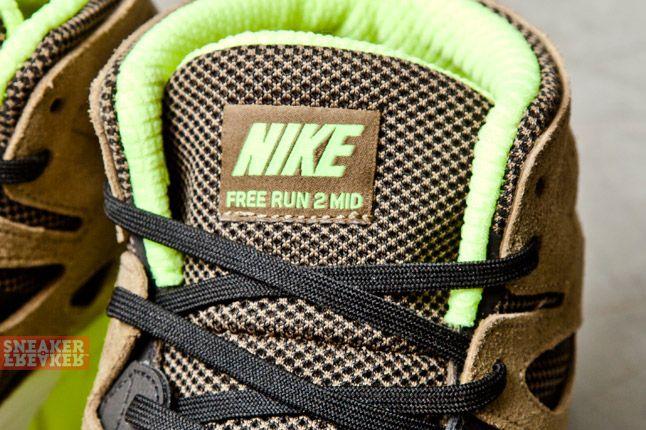 Nike Free Run V2 Mid Light Umber Volt 4