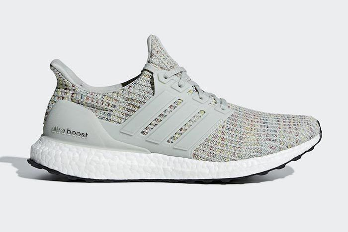 Adidas Ultra Boost 4 0 Grey Multicolor 1