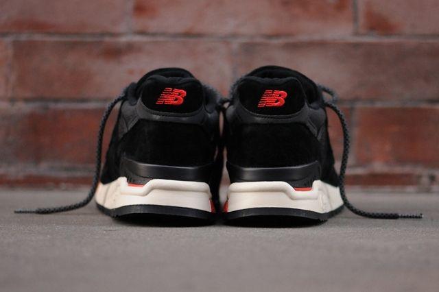 New Balance 998 Black Red 5