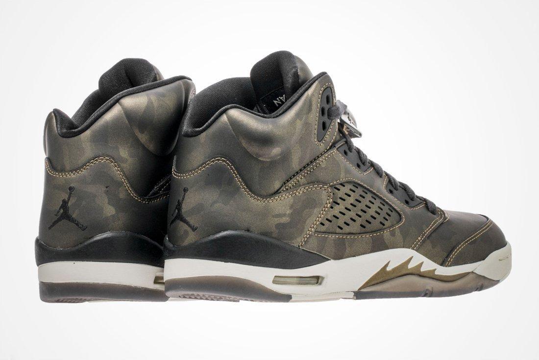 Air Jordan 5 Gs Camo 3