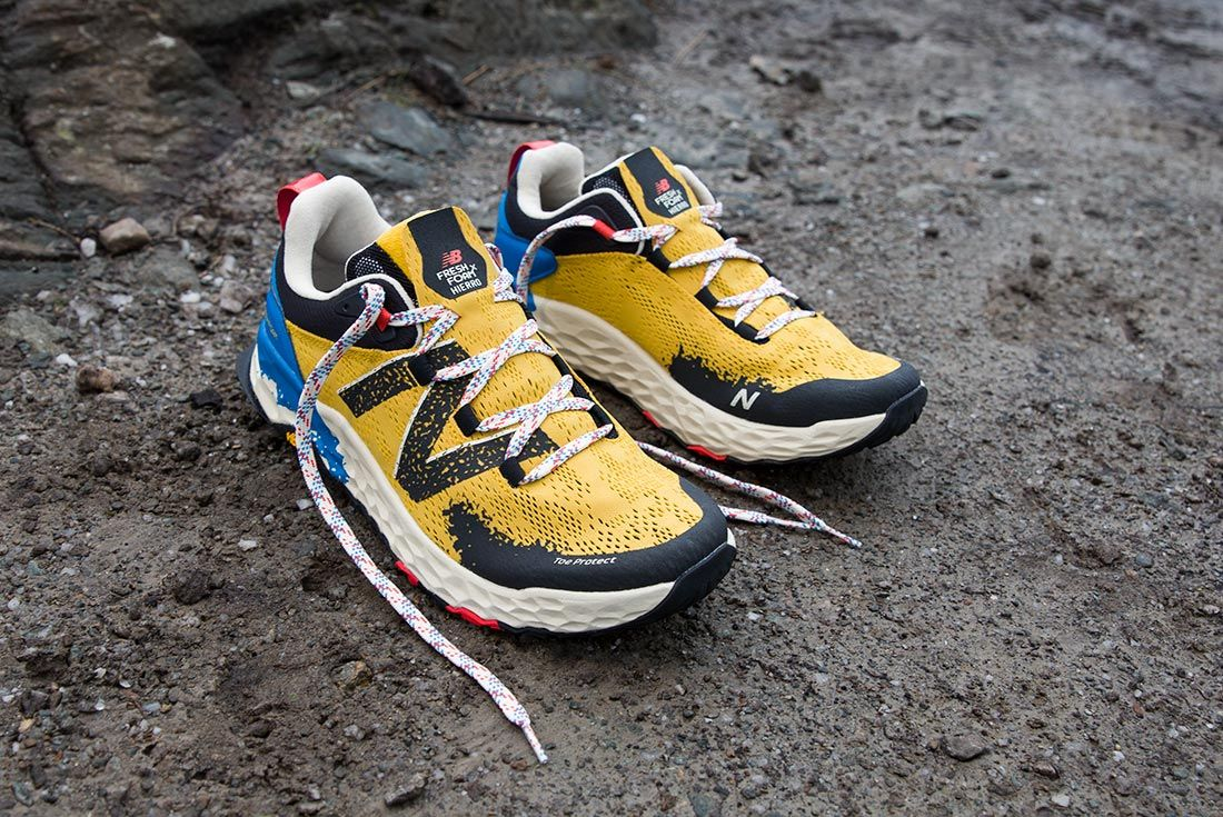 New Balance Hierro V5 Yellow Rocks