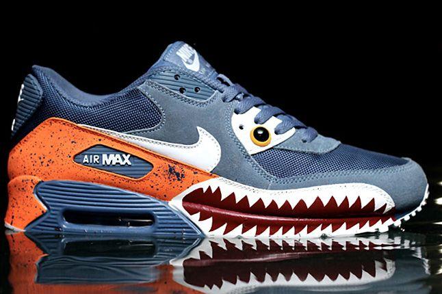Nike Air Max 90 Piranha Customs 1 1