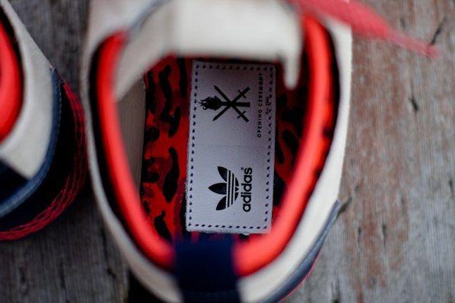 Adidas Opening Ceremony Newyork Runner Red Inner Detail 1
