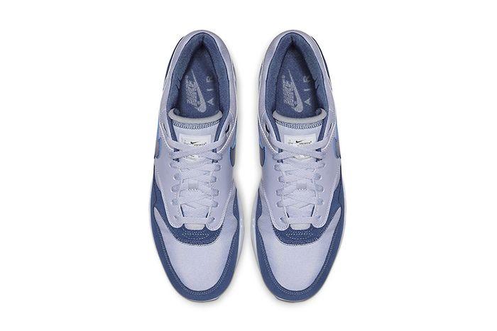 Nike Air Max 1 Mystic Navy Ah8145 016 Release Date Top Down