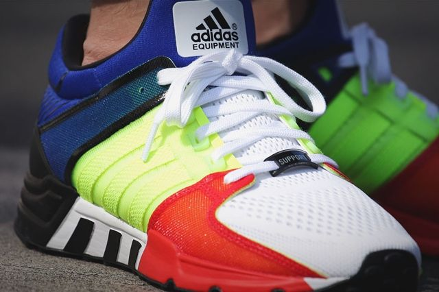 Adidas Eqt Support 93 Colour Blocking 2