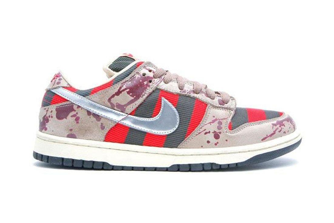 Nike Dunk Sb Low Freddy Krueger Lateral Side Shot