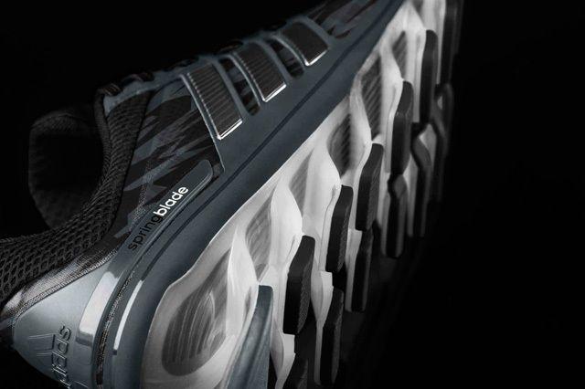 Adidas Springblade0 Blk Camo Midfoot Sole