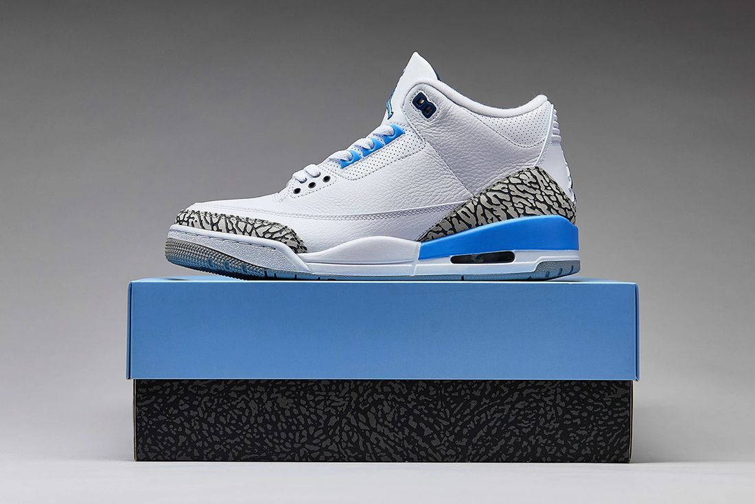 Where To Buy Air Jordan 3 Unc