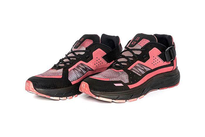 11 By Boris Bidjan Saberi X Salomon Spring Summer 2020 Footwear Red And Black Low
