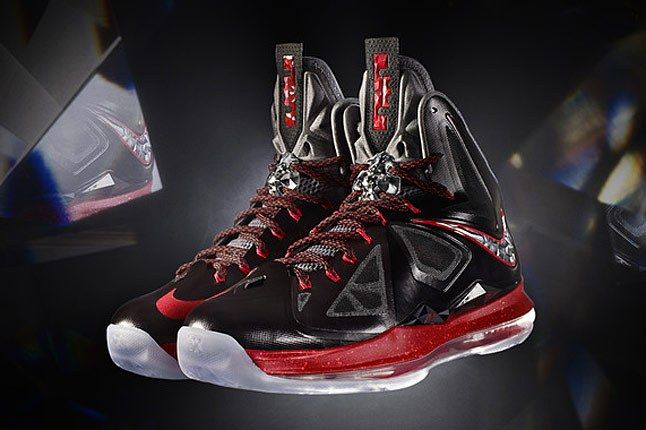 Nike Lebron Black Red 1