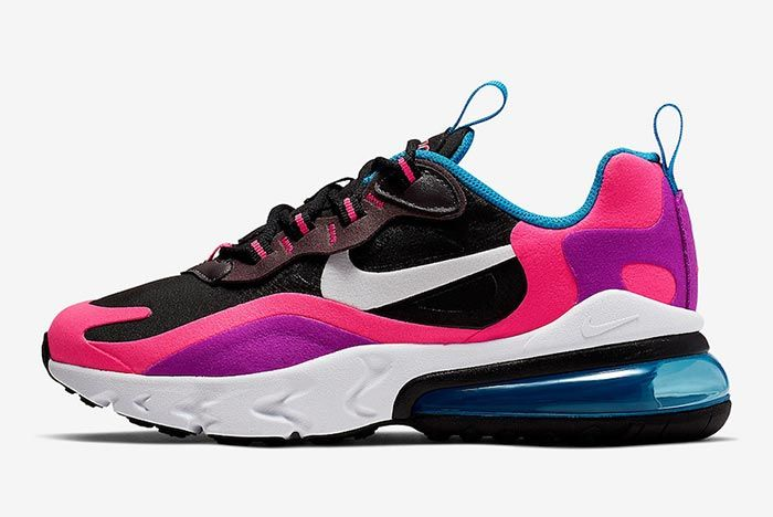 Nike Air Max 270 React Hyper Pink Bq0101 001 Lateral Side Sjot