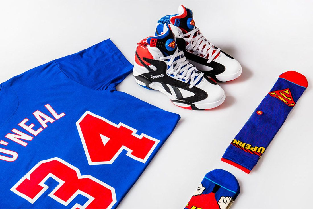 Superman Dc Comic X Shoe Palace X Reebok Shaq Attaq Sneaker Freaker 3