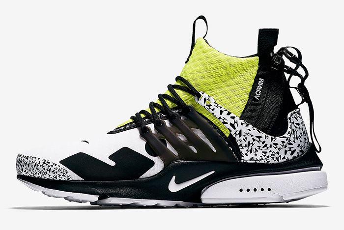 Acronym Nike Air Presto Mid Dynamic Yellow Cool Grey 2