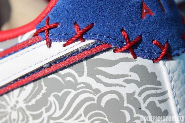 Nike Af1 Puerto Rico Heel Detail 1