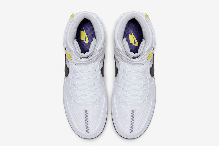 Nike Air Force 1 High White Court Purple Ci1117 100 Top