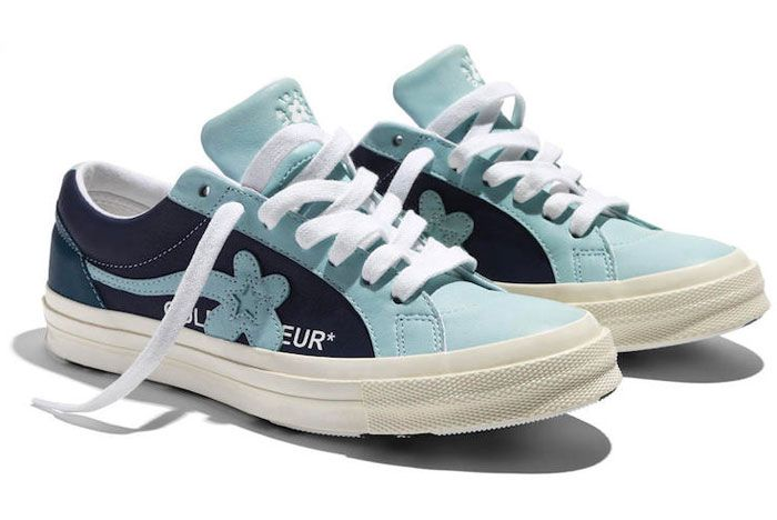 Golf Le Fleur Converse Industrial Pack Blue Right