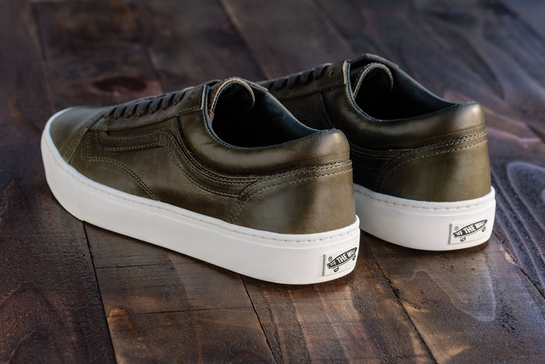 Horween Leather X Vans Vault Collection25