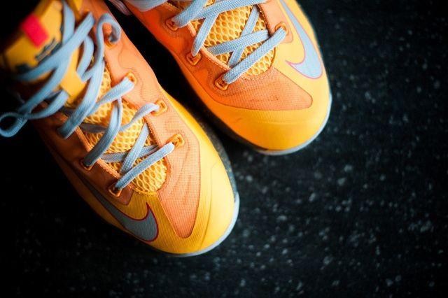 Nike Lebron 11 Low Atomic Mango Bump 2