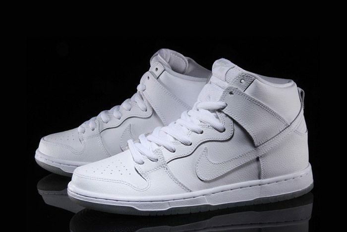 Nike Sb Dunk High Pro White 5