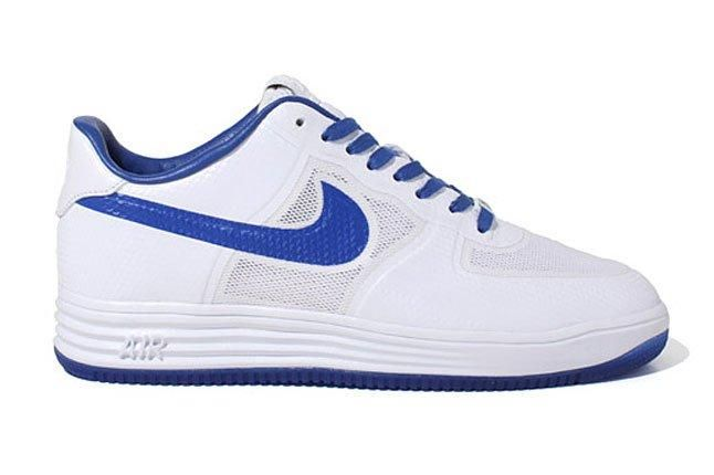 Nike Lunar Force 1 Blue White 1