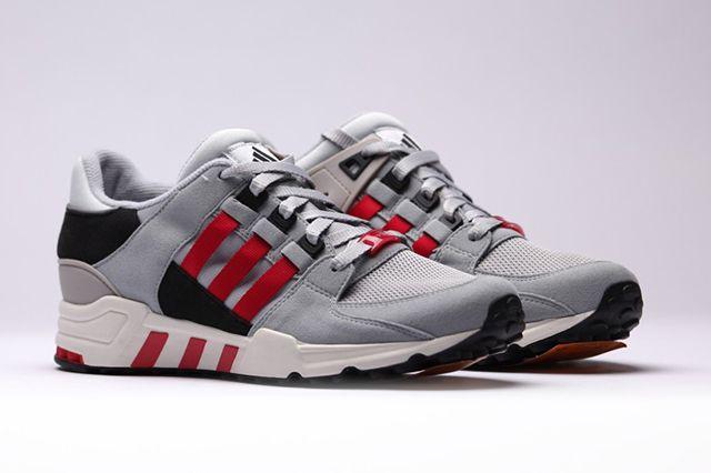 Adidas Equipment Running S Core Black Chalkwhite Scarlet 2