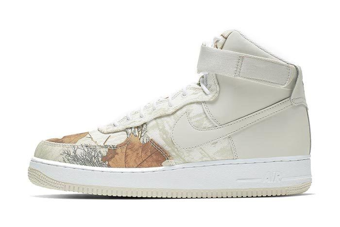 Realtree White Nike Air Force 1 Lateral