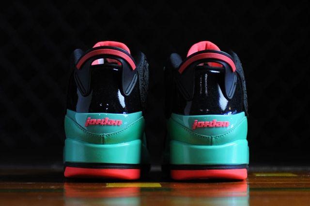 Air Jordan Dub Zero Black Infrared 2