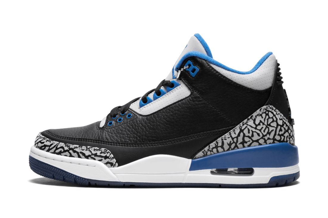Sport Blue Air Jordan 3 Best Feature