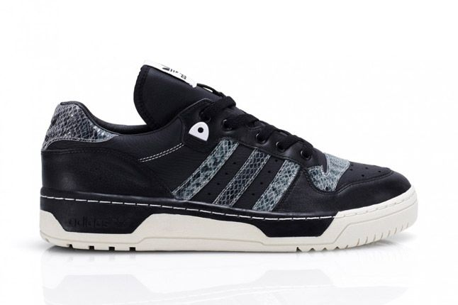 Adidas Rivalry Lo Limited Edition Black Profile 1