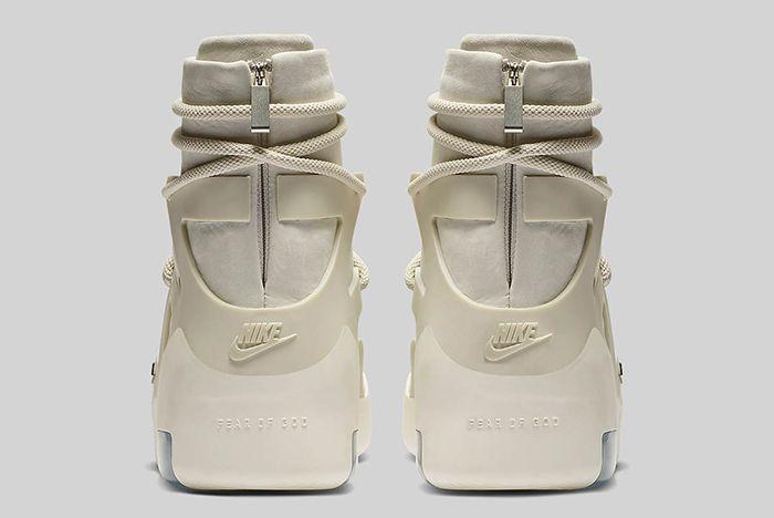 Nike Air Fear Of God 1 Light Bone Official 5