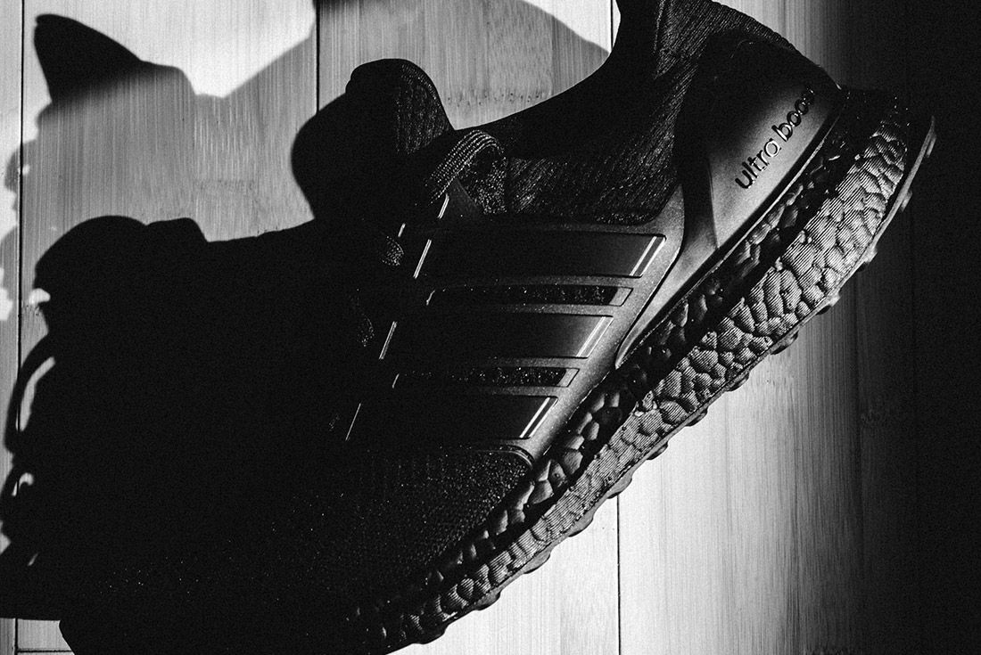Van Styles Adidas Ultra Boost Triple Black 9