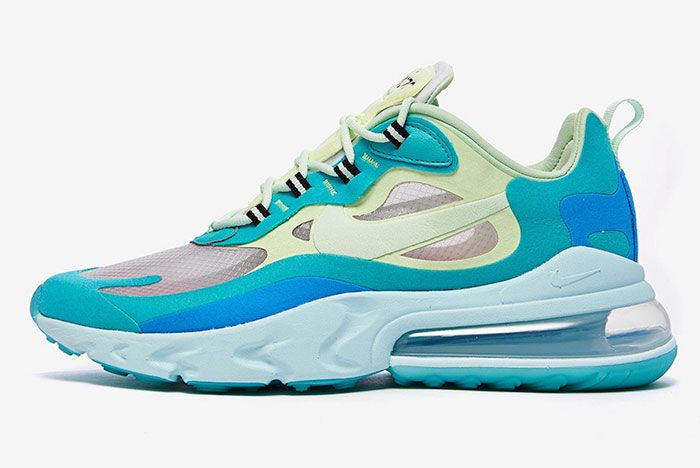 Nike Air Max 270 React Hyper Jade Ao4971 301 Lateral