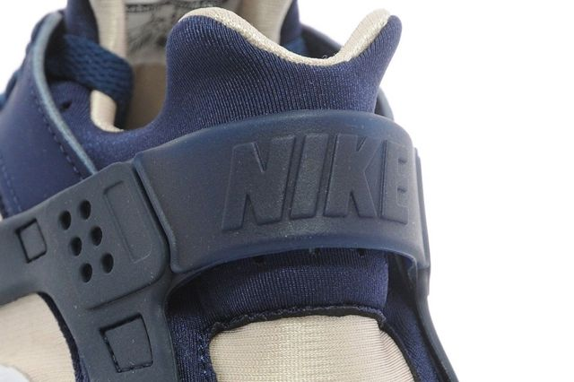 Nike Huarache Navy Green 01