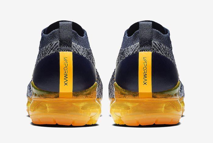 Nike Air Vapormax 3 Laser Orange Heels