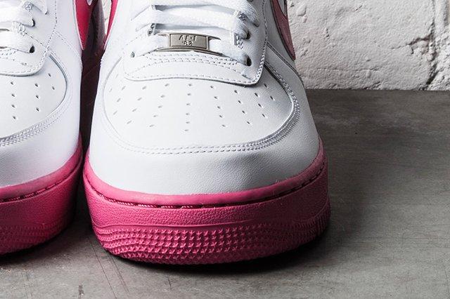 Nike Air Force 1 White Vivid Pink 2