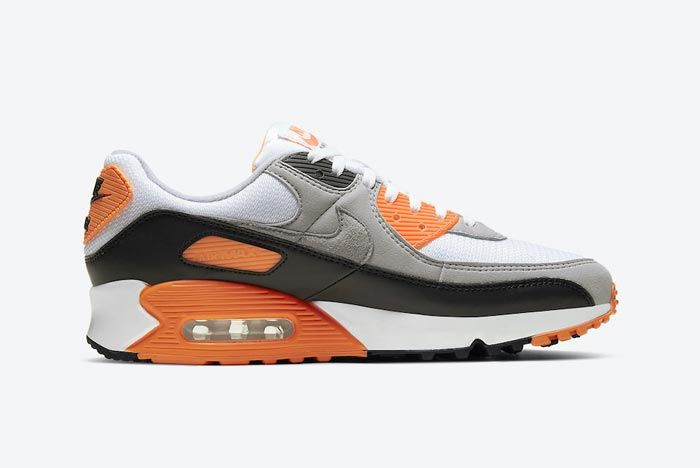 Nike Air Max 90 Total Orange Medial