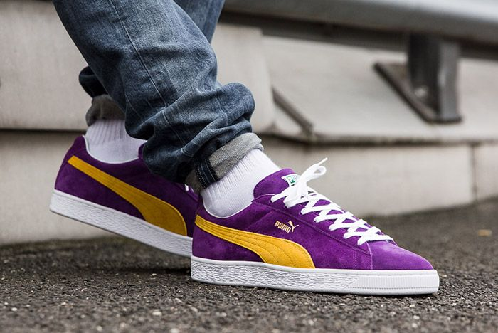 Puma Mij Collectors Suede Purple 3