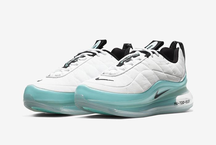 Nike Air Mx 720 818 White Aqua Pair