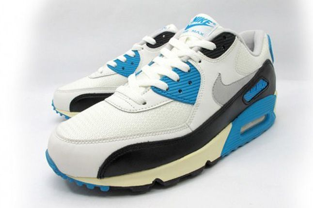 Nike Air Max 90 Og Laser Blue Pair 1