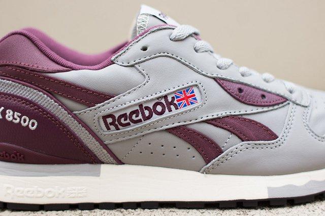 Reebok Lx 8500 Grey Burgundy 7