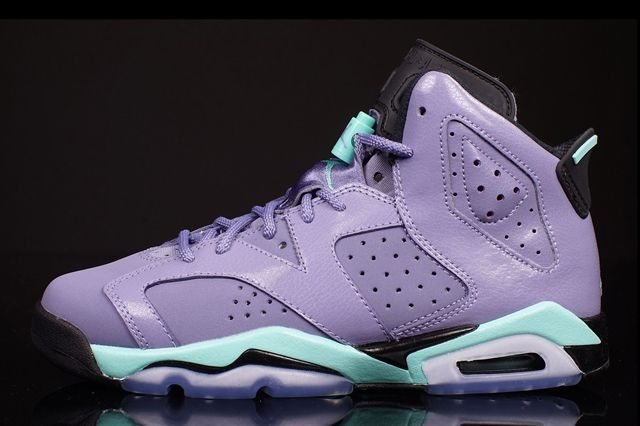 Air Jordan 6 Gs Iron Purple 4