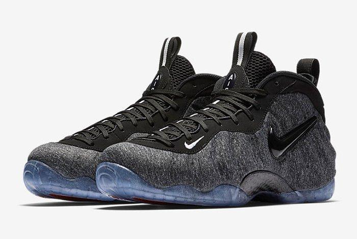 Nike Air Foamposite Pro Tech Fleece4 1