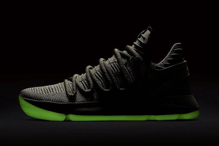Nike Zoom Kd 10 Olive Green 1