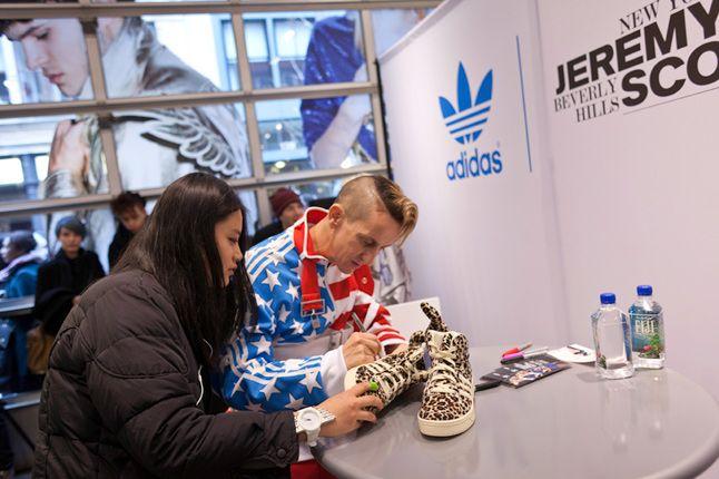 Jeremy Scott In Store Adidas Originals Soho New York 36 1