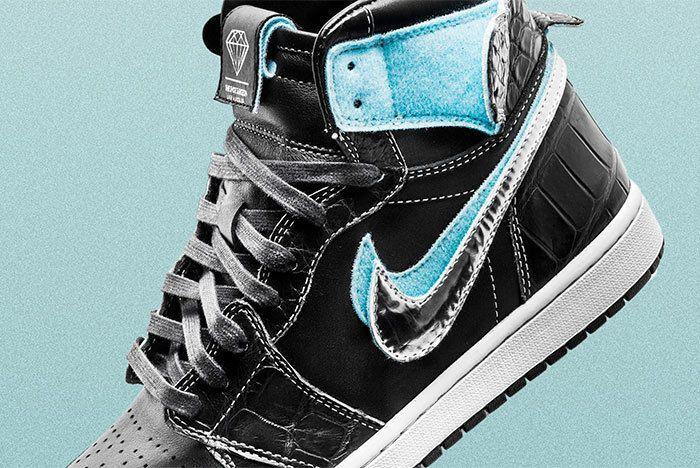 Diamond Air Jordan1 Surgeon Sneaker Freaker1